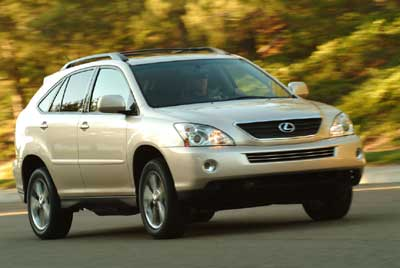 Lexus Sets Price for RX 400h