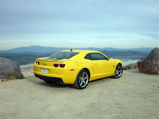 2010 Camaro V6 Review Gallery