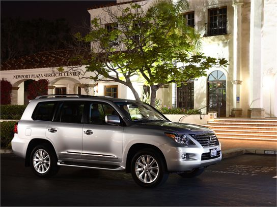 Review: 2008 Lexus LX 570
