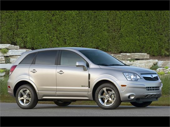 The Daily Drive: 2008 Saturn Vue Green Line