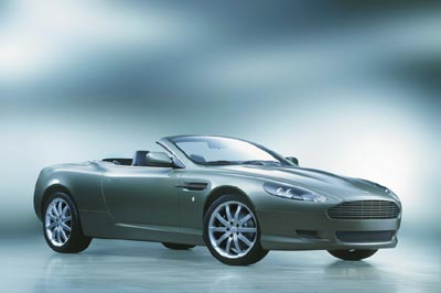 2005 Aston Martin DB9 Volante Preview