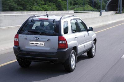 2005 Kia Sportage Preview