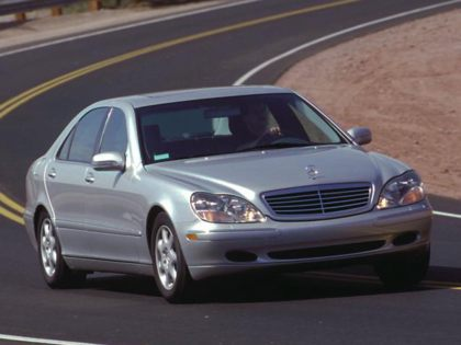 Kelley Blue Book ® - 2001 Mercedes-Benz S-Class Overview