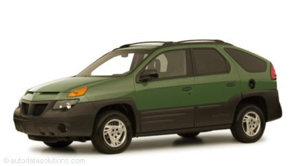 Kelley Blue Book ® - 2001 Pontiac Aztek Overview