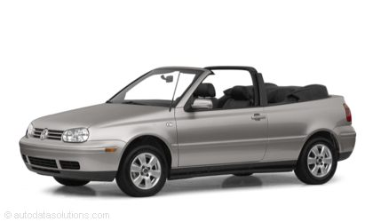Kelley Blue Book ® - 2001 Volkswagen Cabrio Overview