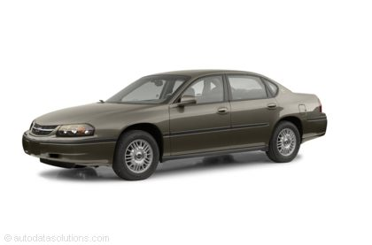 Kelley Blue Book ® - 2002 Chevrolet Impala Overview