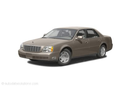 Kelley Blue Book ® - 2003 Cadillac DeVille Overview
