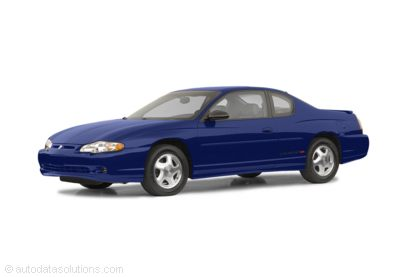 Kelley Blue Book ® - 2003 Chevrolet Monte Carlo Overview