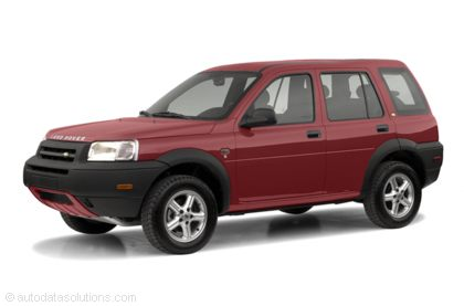 Kelley Blue Book ® - 2003 Land Rover Freelander Overview