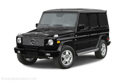 Kelley Blue Book ® - 2003 Mercedes-Benz G-Class Overview