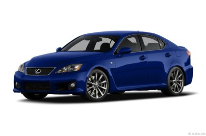 Edmunds.com 2009 Lexus IS F Overview