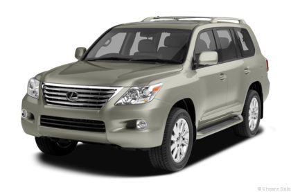 Edmunds.com 2010 Lexus LX 570 Overview