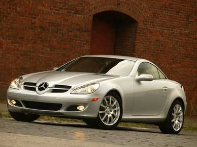 2005 Mercedes-Benz SLK-Class Road Test