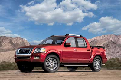 2007 Ford Explorer Sport Trac Preview