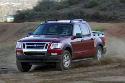 2007 Ford Explorer Sport Trac First Drive