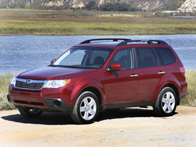 Test Drive: 2009 Subaru Forester 2.5X