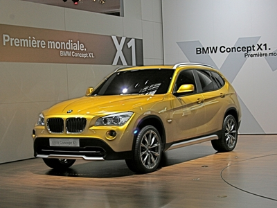 2008 Paris Auto Show: BMW Concept X1 | Autobytel.com
