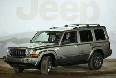 2006 Jeep Commander Preview