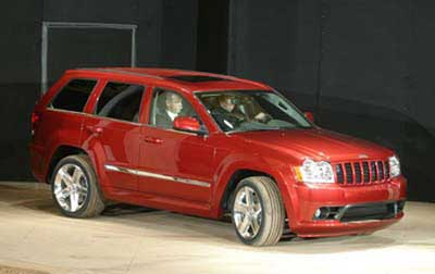 2006 Jeep Grand Cherokee SRT-8 Preview