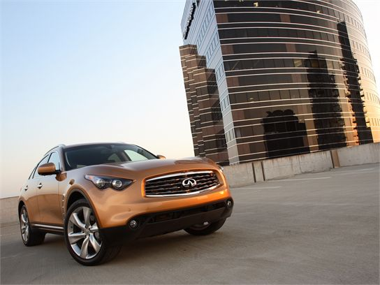 Review: 2009 Infiniti FX50 Test Drive