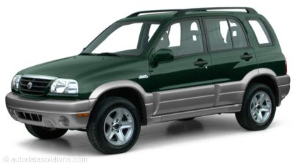 KBB.com 2001 Suzuki Grand Vitara Overview